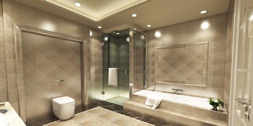 merter-de-gunluk-kiralik-luks-daireler-banyo