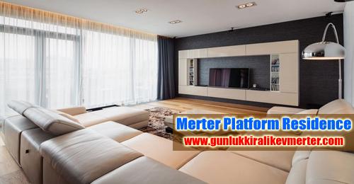 merter-platform-da-gunluk-kiralik-residence-daireler-oturma-odasi